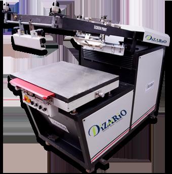 Dizario Industries | Clam Shell Screen Printing Machine